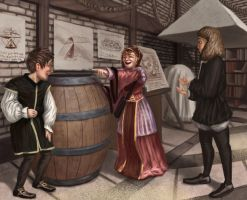 Funny renaissance clothes by K-Bladin