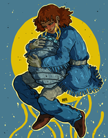 Nausicaa by remdraws