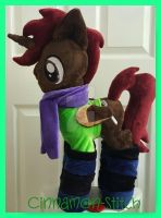 mlp plushie commission WRENCH HANDLER by CINNAMON-STITCH