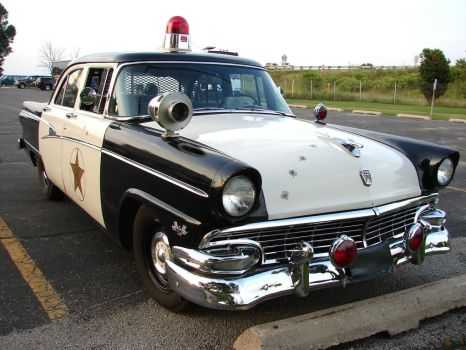 Vintage Police Car 1 by FantasyStock