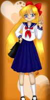 Minako Aino Bookmark design by Hotaru-oz