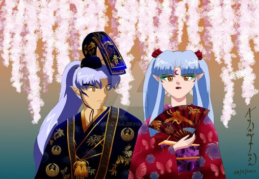 The Mikado and Daughter-in-Law elect