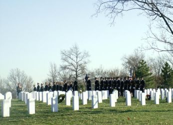 Arlington Military Funeral VI by GregoriusU
