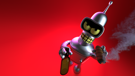 Bender Wallpaper by Gigabeto