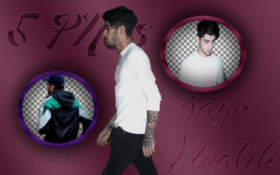 PNG Pack ZAYN #2 by ZoneMalik