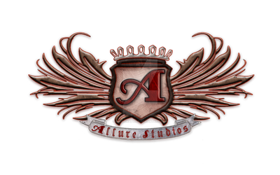 Allure Studios Logo by GinsuGraphics