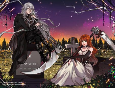 Commission: Undertaker and Anny by Innervalue
