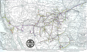 ATSF map pre 1980s by mrbill6ishere