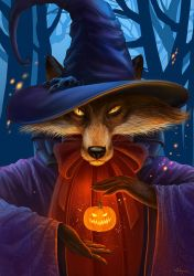 Halloween Fox by Alfa-Renard