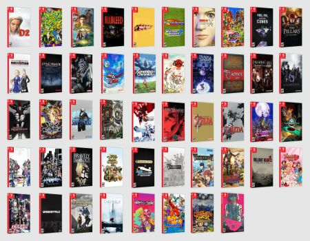 Nintendo Switch Desired Ports for 2018 by marblegallery7