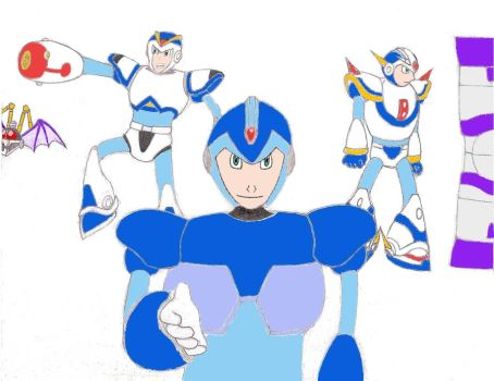 Mega Man X Unlimited Potential in Color by Bladeninja76