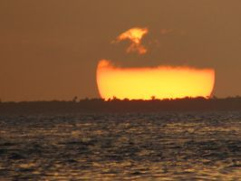 Sunset at Cancun by Terraraptor