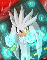 Silver The Hedgehog by Haruka-15