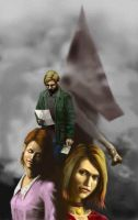 Silent Hill 2 fanart by EthicallyChallenged