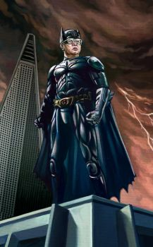 Kim Jong Batman by RYE-BREAD