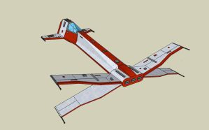 T-97 X-Wing Star Fighter by quacky112