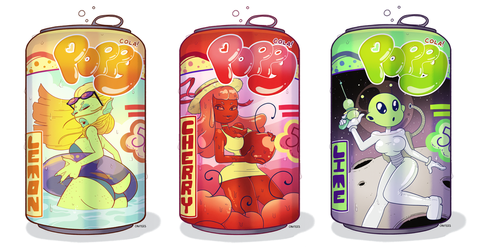 Monster Cola by Cavitees