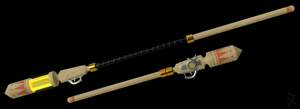 Guiding Anemoi (RWBY OC Weapon) by JackBryanReynard