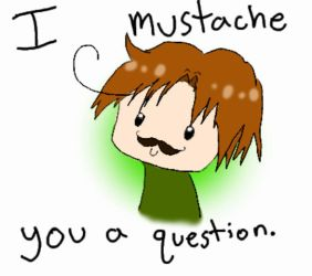 Romano Mustache You A Question by syaower
