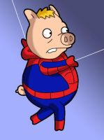 Spider Pig. by Simpsons-Addict