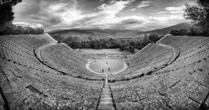 Greece - Epidaurus - Theatre 02 by GiardQatar
