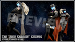 [MMD] The Blue Shadow guards PREVIEW by Riveda1972