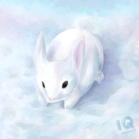 The Cloud Bunny by Incarnit