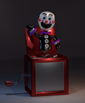 Jack in the box Puppet by Zylae