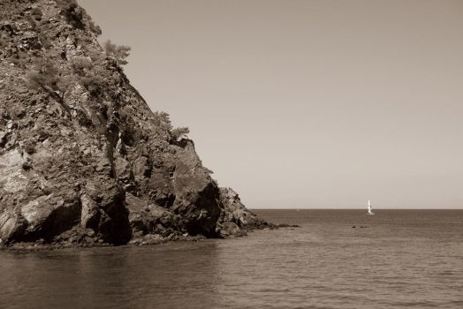 out in the sea by cezarlascari