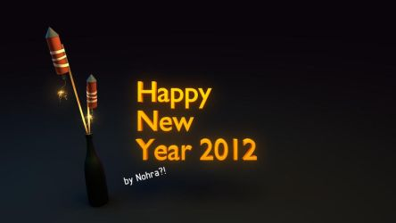A bit late but: HAPPY NEW YEAR 2012 by ToTac