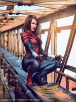 Spider-Girl (Mayday Parker) Cosplay 2 by raquelsparrowcosplay
