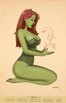 Poison Ivy - Calendar Series by TheCosbinator