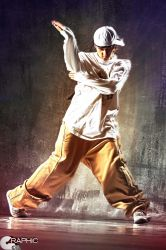 Professional Dancer II by GraphicCo