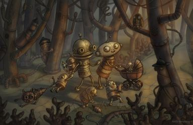 Machinarium - ''New adventures ahead!'' by Neskvik