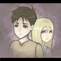 [SnK] Eren and Historia by AngelsForeverXO