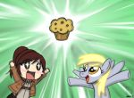 Attack on Muffin by mell0w-m1nded