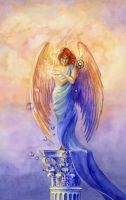 Angel of Truth and Illusion by janetchui