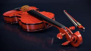 Violino 3D by omegavandal