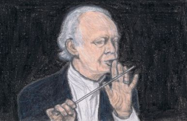 Lorin Maazel says shh by gagambo