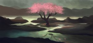 The lonely tree. by Zary-CZ
