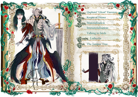 GC: Qaphsiel Ghost by orotea
