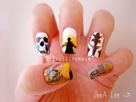 Sherlock Nails by jeealee