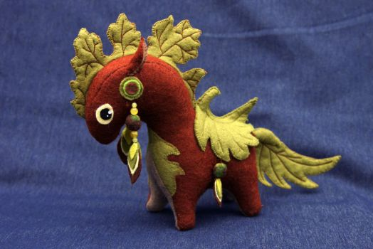 Plant horse soft toy by hontor
