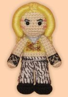 Amigurumi Hedwig from Hedwig and the Angry Inch by ShadyCreations