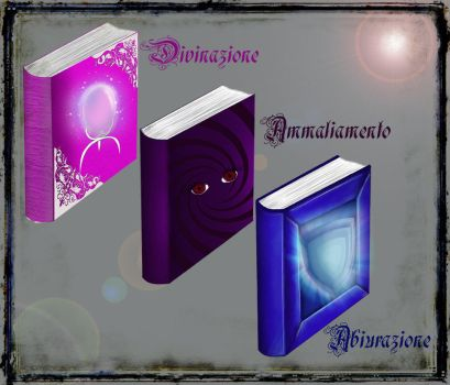 Magic book DeD by verdecasa