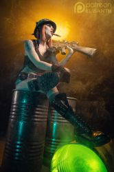 Patreon April shoot - Tank Girl by Elisanth