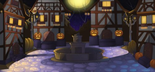 In the land of Halloween itself by KarmicIllusion