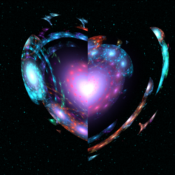 Heart of the Galaxy by shanblue