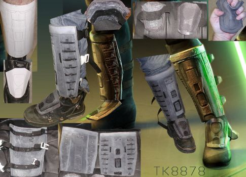Maris Brood Shin guards by ShadarLocoth