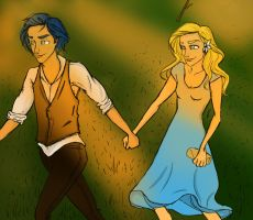 Teddy and Victoire by twirkle